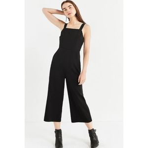 NWT Urban Outfitters Black Culottes Romper
